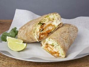 Image of a baja burrito