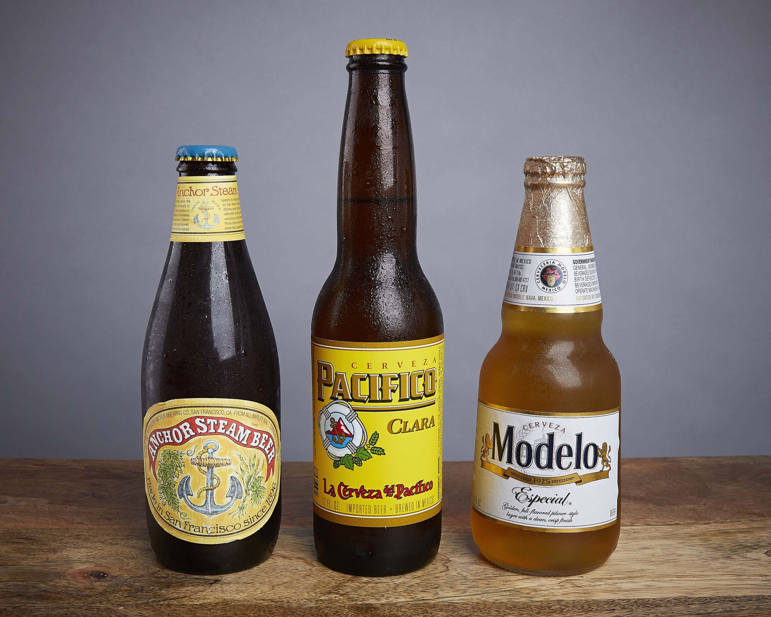 Image of three bottled beers