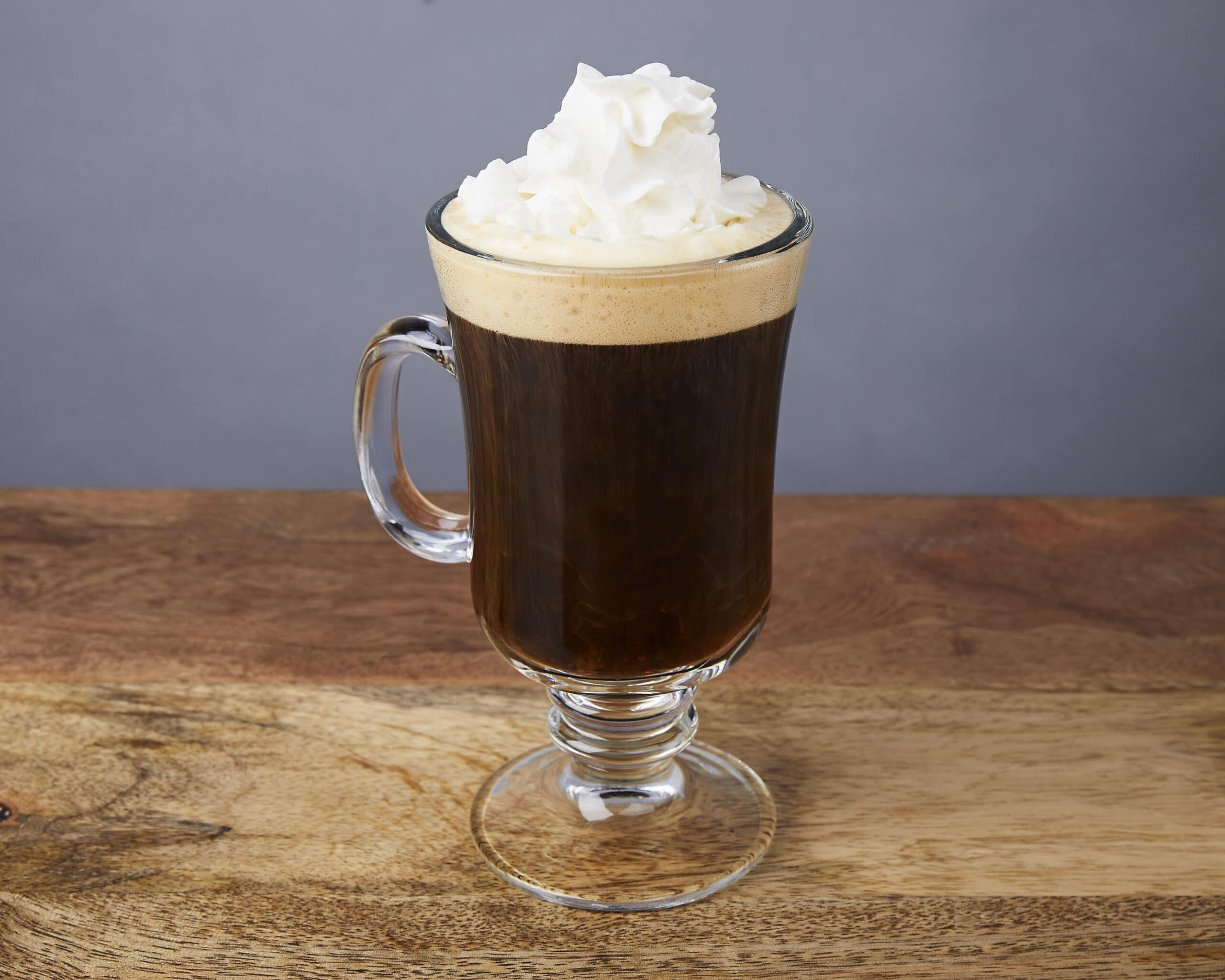 Image of an irish coffee