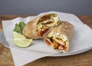 Image of a Grilled Mahi Burrito
