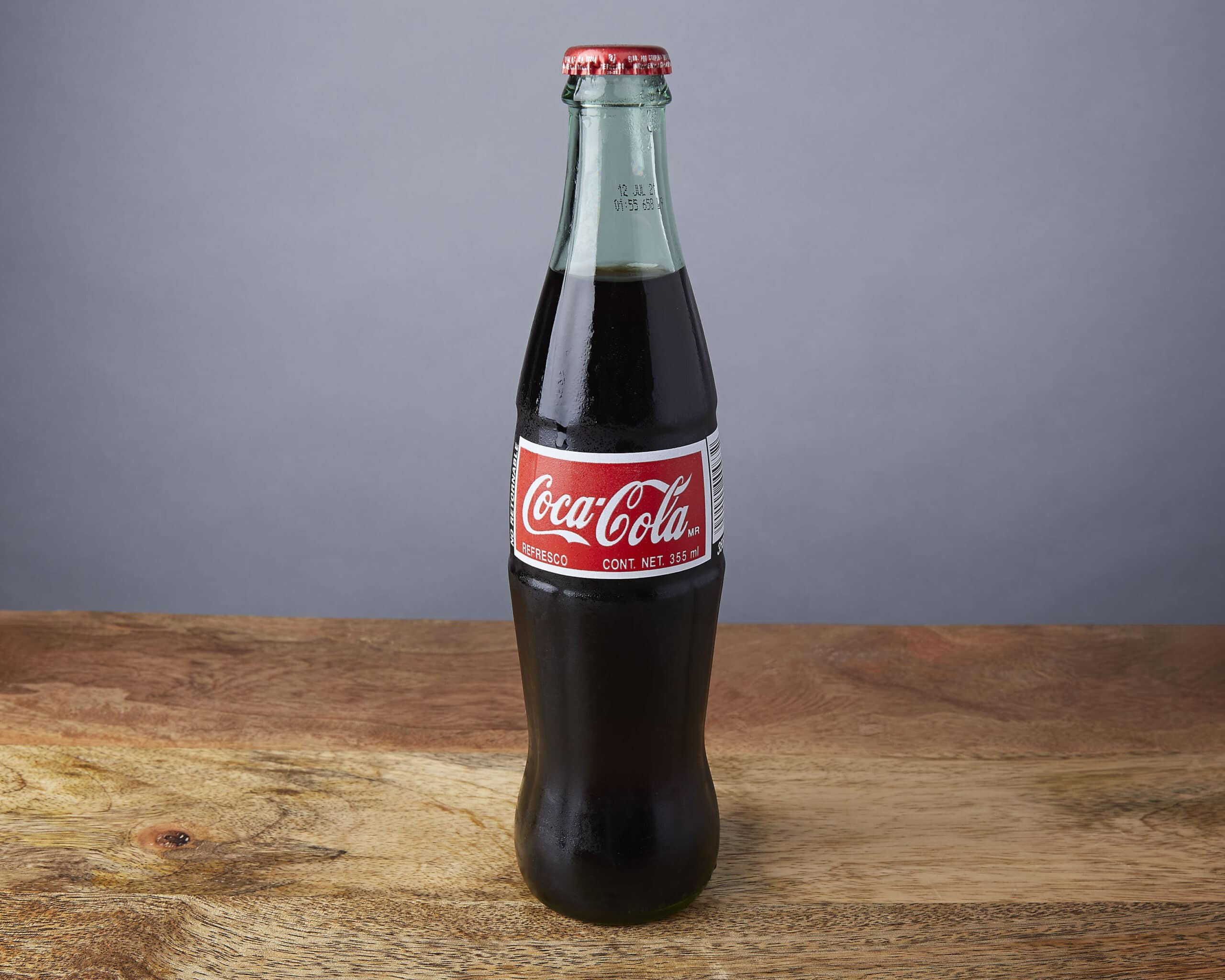 Image of a mexican coke glass bottle
