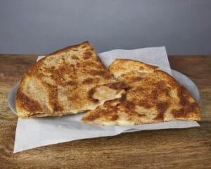 Image of a poco queso quesadilla