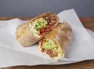 Image of a Vegetariano Burrito
